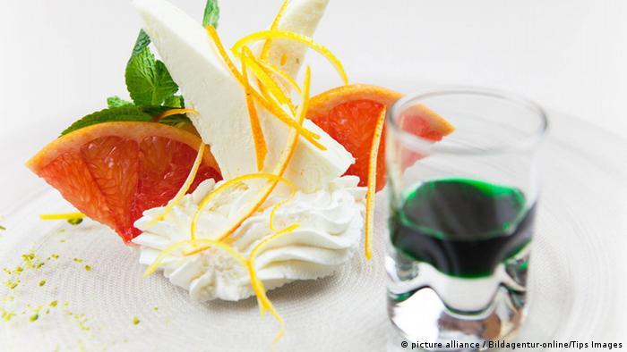 Sterneküche Dessert (picture alliance / Bildagentur-online/Tips Images)