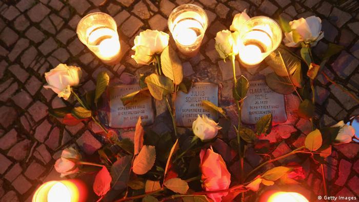 Gedenken an die Pogromnacht in Berlin