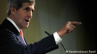 US Secretary of State John Kerry (c) REUTERS/Jason Reed