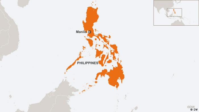 Map of the Philippines DW