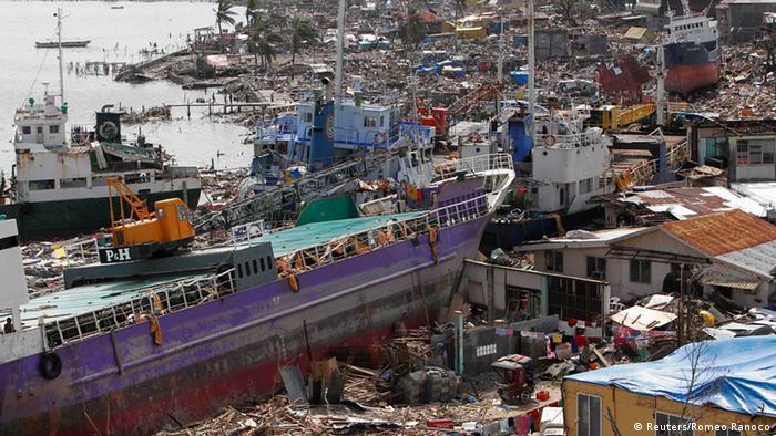 Zerstörungen nach dem Taifun (Foto: REUTERS/Romeo)