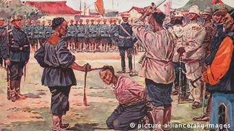 Hinrichtung des Moerders von Ketteler China, 1900/01 (Foto:picture-alliance/akg-images)