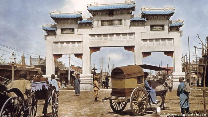 Peking, Sühnedenkmal für Klemens von Ketteler 1906 (Foto: picture-alliance/akg-images)