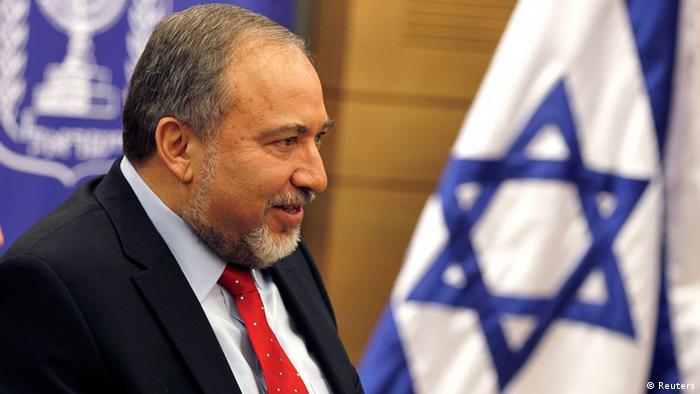 Avigdor Lieberman in Jerusalem 11.11.2013
