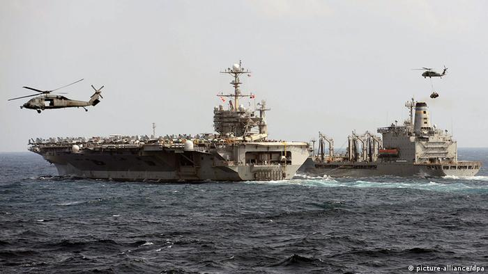 Flugzeugträger USS George Washington (foto: dpa/ US Navy) epa03946123 A handout made available by the US Navy on 12 ITORIAL USE ONLY