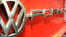 Das Logo eines VW-Porsche 914