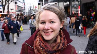 Marleen Schwarze, 18: Ich mache mich damit zum Außenseiter
