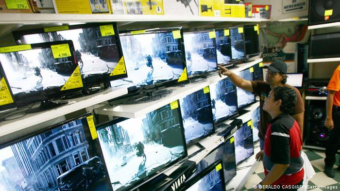 Venezuela Kauf Elektrogeräte (GERALDO CASO/AFP/Getty Images)