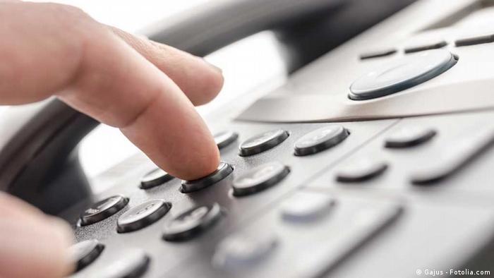 Symbolbild Festnetz Telefon