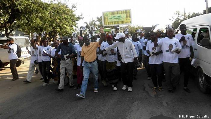 MDM-Kampagne für die Kommunalwahlen in der Stadt Nampula