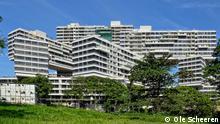 Bildergalerie Ole Scheeren Architektur: Interlace Singapur (Grafik); Copyright: Ole Scheeren ***Pressebild nur für die aktuelle, themengebundene Berichterstattung