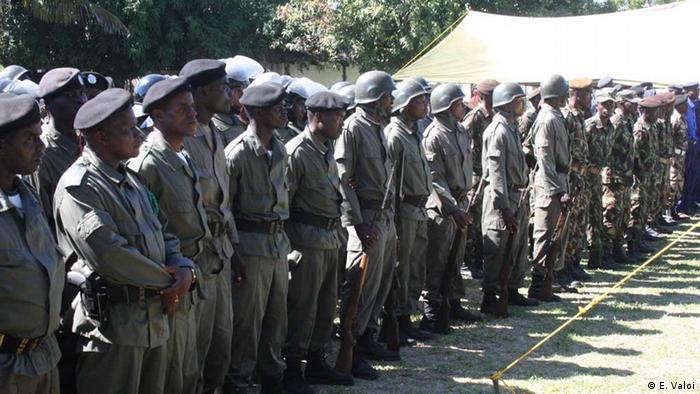 Polizei Mosambik