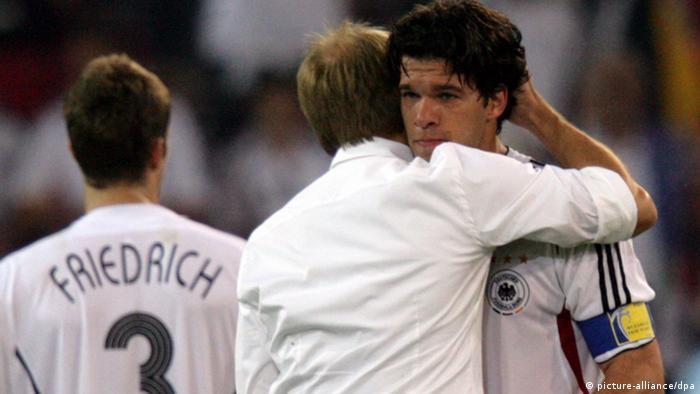 Fußball WM Deutschland gegen Italien (picture-alliance/dpa)