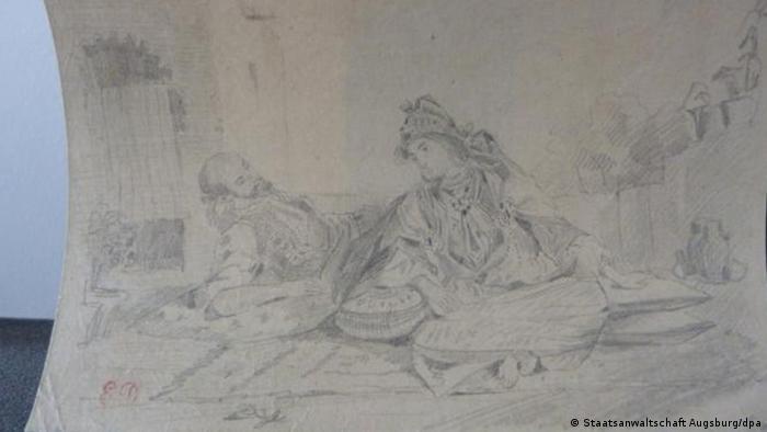 Eugène Delacroix Conversation mauresque sur une terrasse