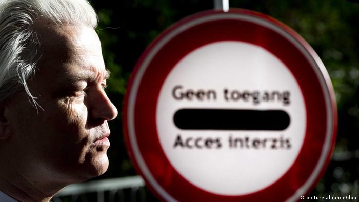 Герт Вилдерс - лидер правых популистов в Нидерландах