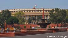 Das indische PArlament in Neu Dheli