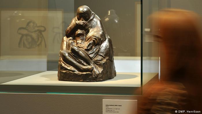 Käthe Kollwitz-Skulptur Pietà (Foto: DW/P. Henriksen)