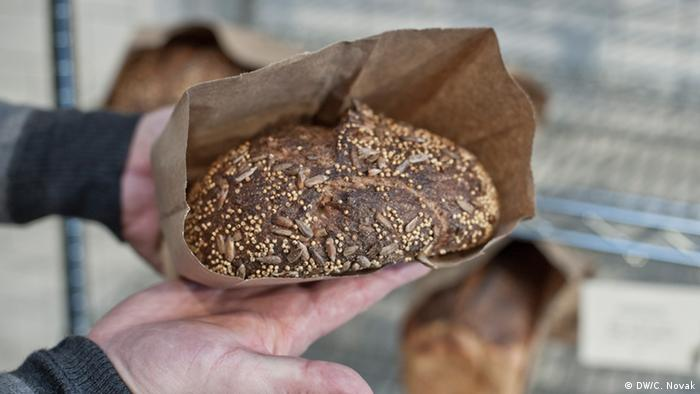 Bread from The Mill in San Francisco, Copyright: DW/Candice Novak