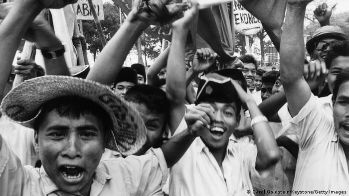 Demonstrasi menentang PKI