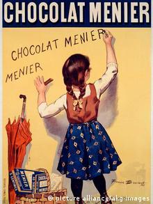 Menier Schokoladenwerbung (Foto: picture alliance/akg-images)