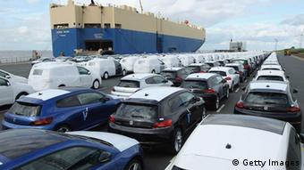 Volkswagen-Autos für den Export (Foto: Sean Gallup/Getty Images)