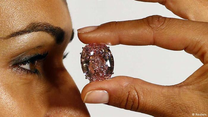 Pink Star/ Diamant (Reuters)