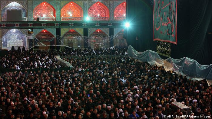 Attentat auf shiitische Pilger während Ashura Fest (Ali Al-Saadi/AFP/Getty Images)