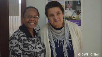 Afrouruguayan activists Beatriz Santos and Mirta Silva (photo: Eilis O'Neill)