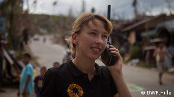 Sandra Bullig in the Philippines