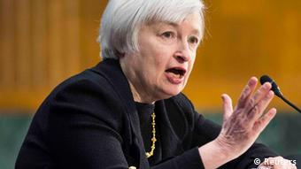 Η επικεφαλής της Fed Τζάνετ Γέλεν