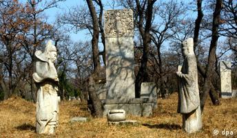 China - Grab des Konfuzius in Qufu