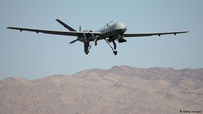 MQ-9 Reaper (Photo by Ethan Miller/Getty Images)