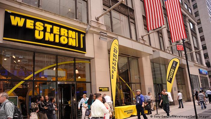 Отделение Western Union в Нью-Йорке