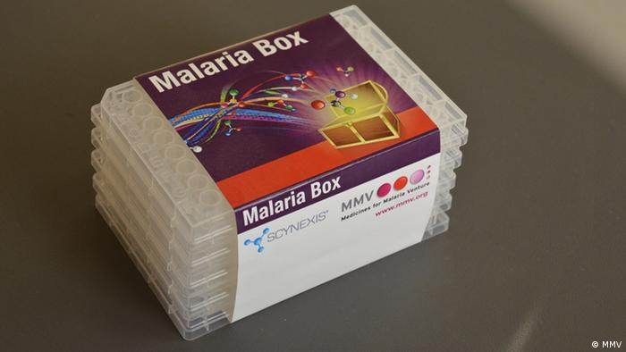 Malaria box. (Photo: MMV)