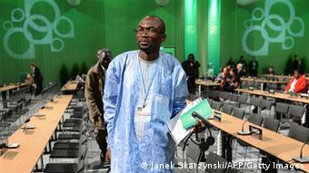 UN Klimakonferenz in Warschau 2013 Pa Ousman Jarju
