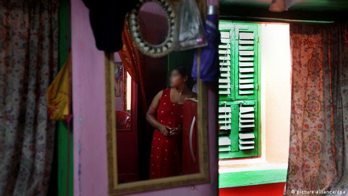 Indien Prostitution Frau Prostituierte Anonym