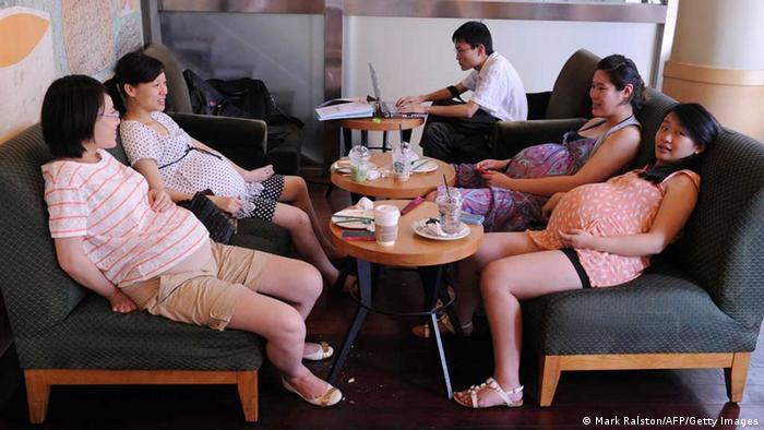 China schwangere Frauen