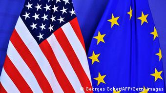 US and EU flags (Georges Gobet/AFP/Getty Images)