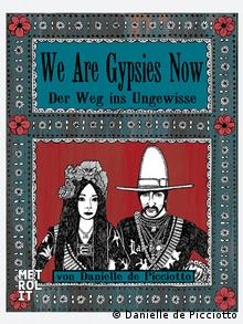 Sketch of couple from cover of Danielle de Picciotto's graphic novel, We are Gypsies Now Copyright: Danielle de Picciotto