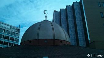Roof of the East London Mosque (Photo: DW / Joanna Impey)
