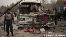 Afghanistan Selbstmordanschlag in Kabul 16.11.2013