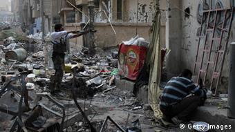Kämpfer im Bürgerkrieg in Syrien (Foto: Getty Images)