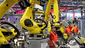 Robot u Porscheovoj tvornici