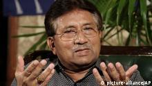 Ehemaliger pakistanischer Präsident Pervez Muscharraf