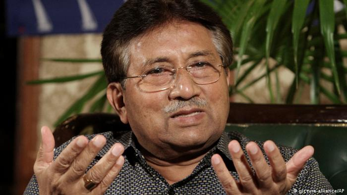 Former Pakistani President Pervez Musharraf, speaks during a press conference in Karachi, Pakistan, Sunday, March 31, 2013. An angry lawyer threw a shoe at former President Pervez Musharraf as he headed to court in southern Pakistan on Friday to face legal charges following his return to the country after four years in self-imposed exile, police said. (AP Photo/Fareed Khan)