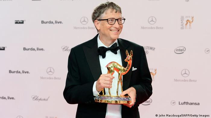 Bambi 2013 Preisverleihung Berlin Bill Gates (John Macdougall/AFP/Getty Images)