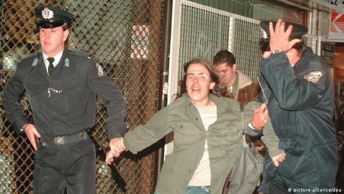 Studentenaufstand in Griechenland 1973 (picture-alliance/dpa)