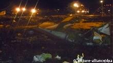 Flughafen Kasan Russland Flugzeugabsturz