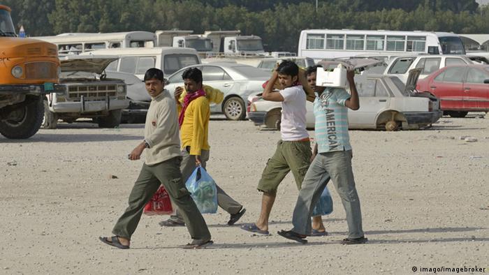 Katar Doha Gastarbeiter
