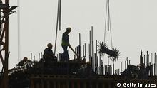 Katar Doha Baustelle Arbeiter OVERLAYFÄHIG